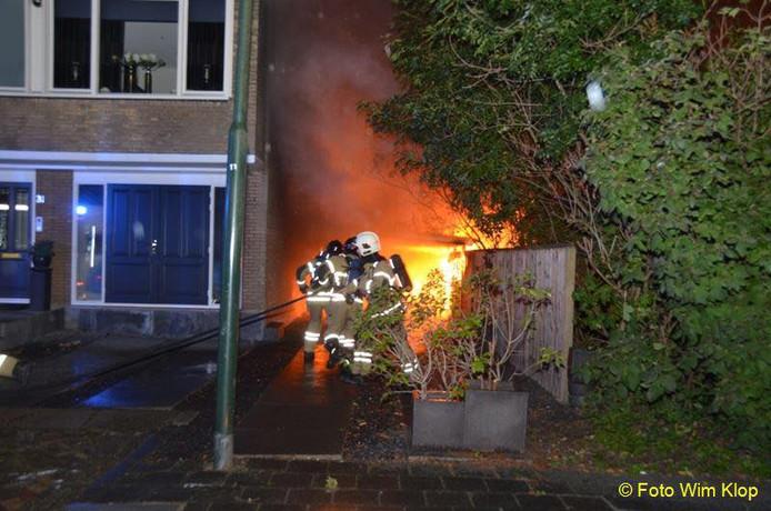 Hoe de brand is ontstaan, is onbekend.