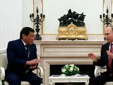 Filipijnse president Duterte vraagt Rusland om wapens