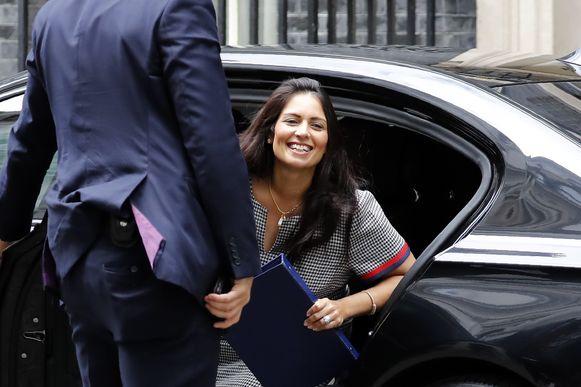 Priti Patel, de Britse minister van Binnenlandse Zaken.
