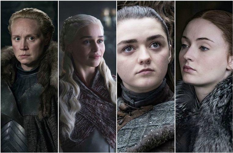 Vrouwen grijpen de macht in het laatste seizoen van 'Game Of Thrones'.