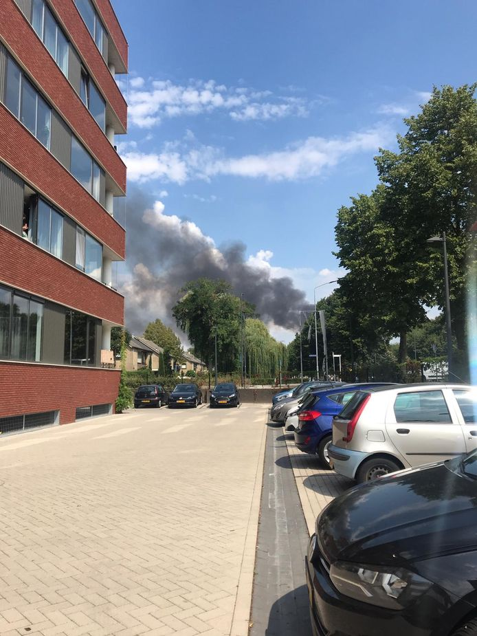 Grote brand bij Heineken in Den Bosch.