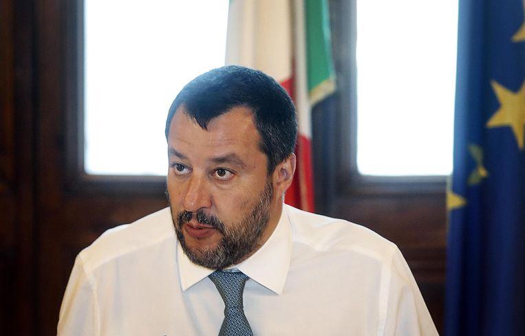 Matteo Salvini dreigde er al eerder mee de migranten op zee te houden om zo druk uit te oefenen op andere EU-landen.