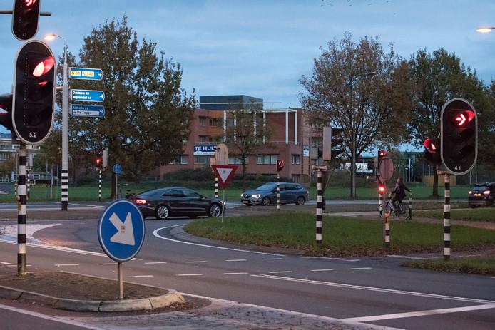 Kruispunt Bos in Raalte.