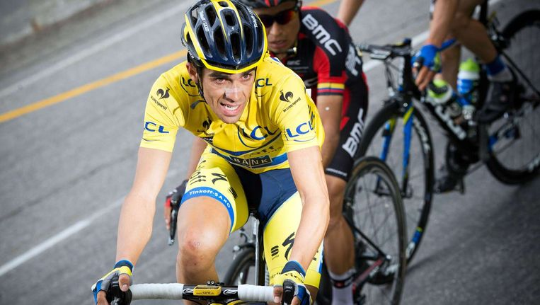 Alberto Contador Beeld afp