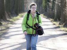 'Wandelkoningin' Truus Wijnen (58) uit Nijverdal vond haar eerste tocht maar niks