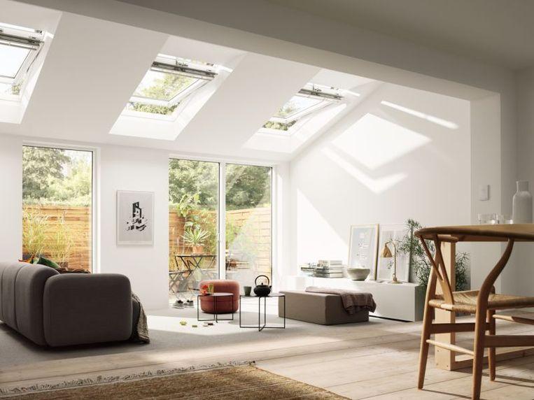Wist je dat het licht dat door het dak binnenvalt drie keer intenser is dan licht dat via een gewone raam binnenkomt?