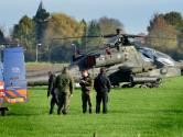 Oefening Defensie gaat door, behalve boven gebied ongeval Apache