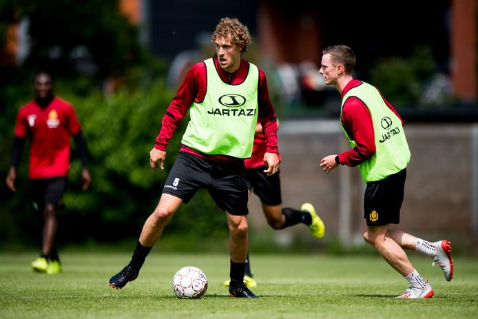 Arjan Swinkels bereidt zich voor op een nieuw seizoen bij KV Mechelen.