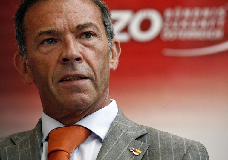 De Oostenrijkste Jörg Haider was een van de eerste Europese rechts-populisten. Beeld anp
