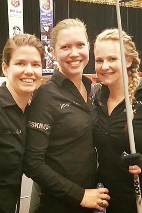 Hardenbergse biljartsters Nederlands kampioen