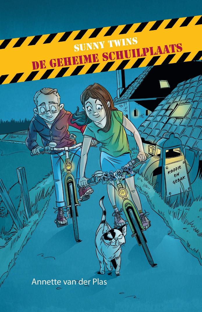 Het boek De geheime schuilplaats van Annette van der Plas.