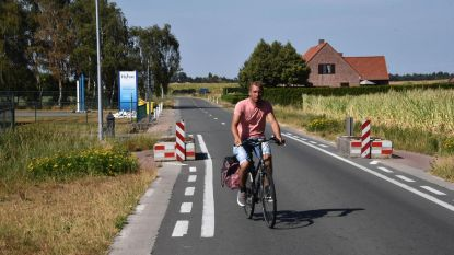 Na zes jaar eindelijk fietspad langs Koekhoven