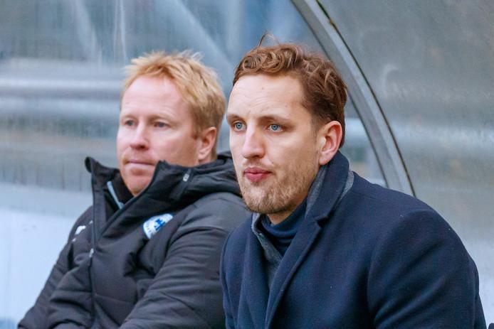 Chris de Graaf kende een teleurstellend debuut als tijdelijke hoofdtrainer van Spakenburg.