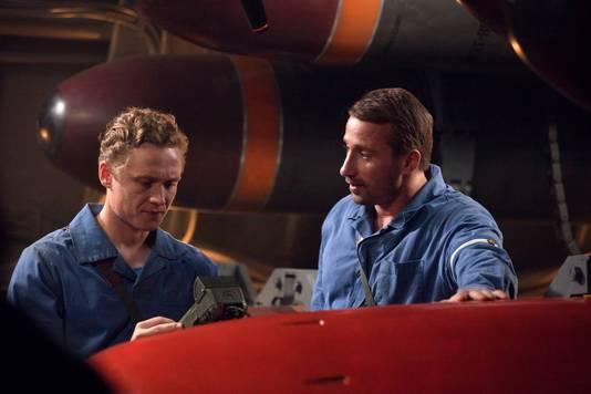 De film 'Kursk' met onder anderen Matthias Schoenaerts (rechts).