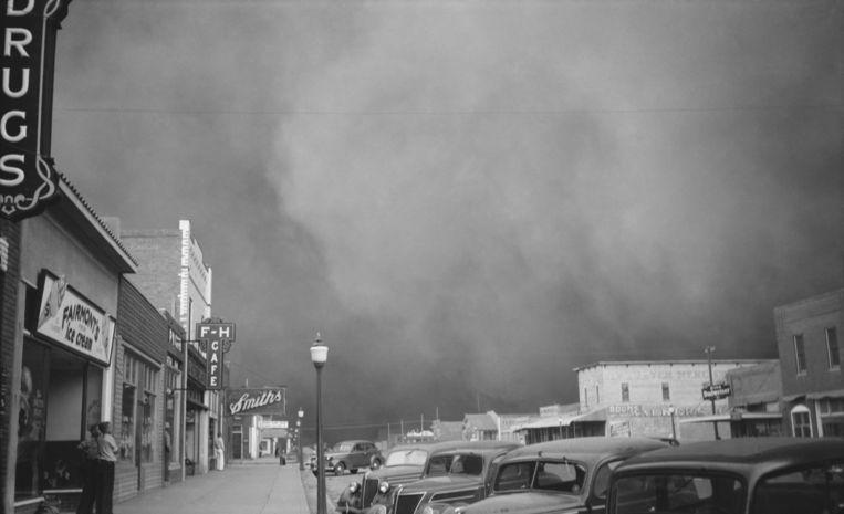 In de jaren '30 kampten de VS bijna tien jaar lang met hittegolven en stofstormen.