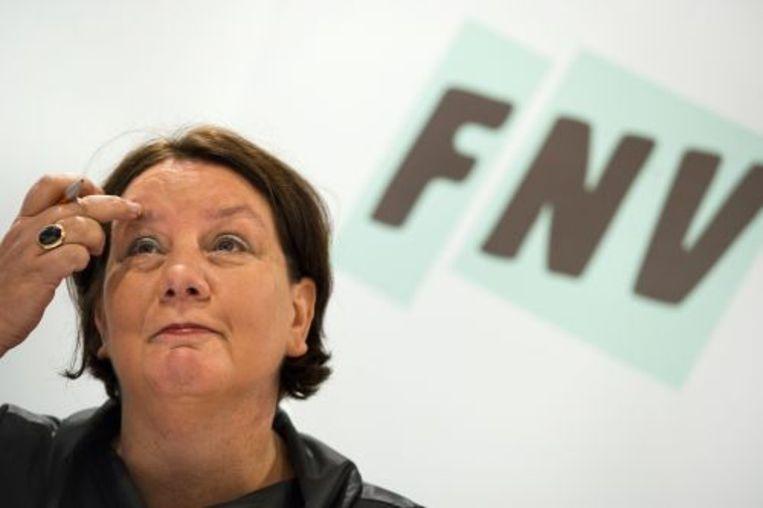 FNV-voorzitter Agnes Jongerius. ANP Beeld