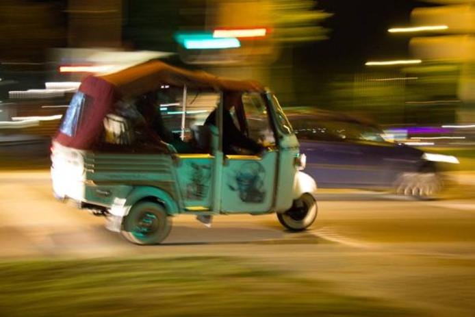 Een van de vervoersmiddelen.