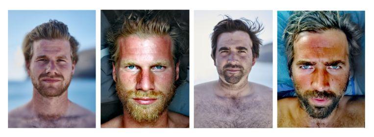 De tocht over de Atlantische Oceaan woog zwaar op Bernard en Damien Van Durme.