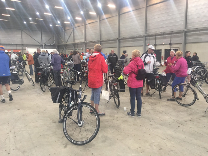 Iedereen is klaar voor de Ride for the Roses