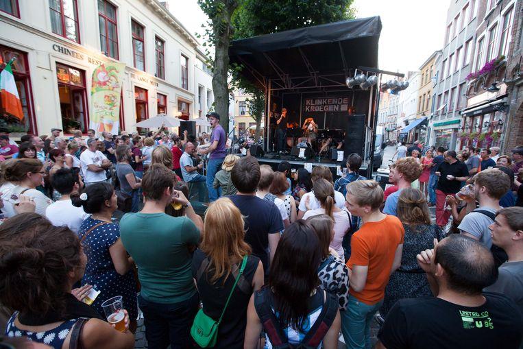 Klinkende Kroegen, hier in de Sint-Amandsstraat.