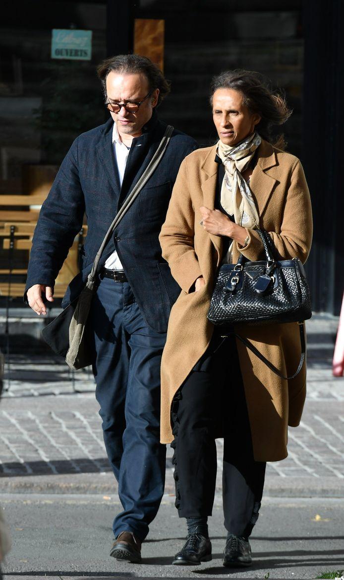 Vincent Perez et sa femme Karine Silla