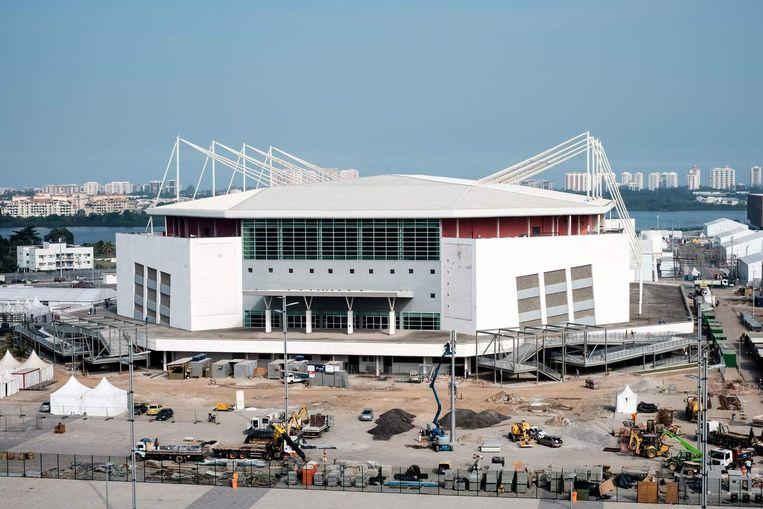 De Rio Olympic Arena. Beeld afp