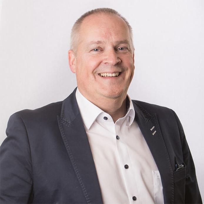 Directeur Bernhard Nanninga van het Centrum Arbeid en Mobiliteit in Zwolle.