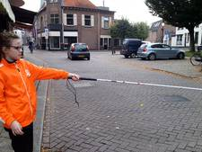 Les in Lochem leert: Vooral fietsers negeren witte blindenstok