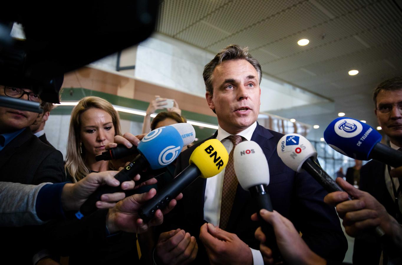 Staatssecretaris Mark Harbers (VVD).