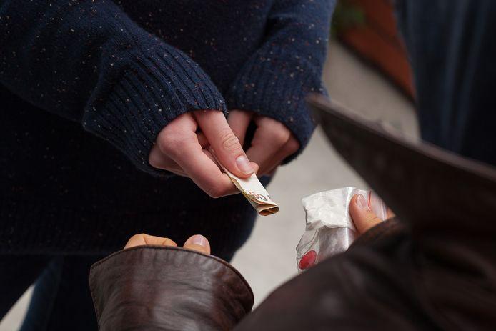 Illustratiebeeld - De man verkocht drugs in Ronse.