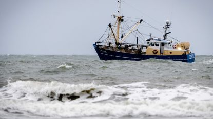 Twee lichamen in stuurhut gezonken vissersboot in Noordzee zijn vermisten