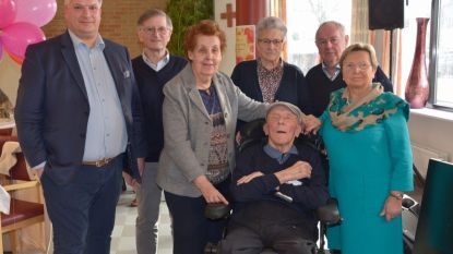 Marcel (96) en Mariette (87) vieren 65 jaar huwelijk