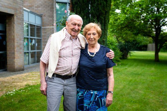 Joris Verhaegen (92) en Paula De Deckker (88) zijn 70 jaar getrouwd.