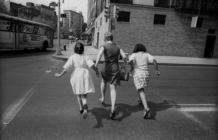 De lezer volgt een jaar lang – vanaf 21 augustus 1967 –wat Gesine Cresspahl in New York meemaakt, in relatie tot het wereldnieuws. Beeld Getty Images