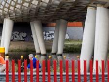 Straatbeeld: Eerbetoon aan de bevrijders zit weer vol met graffiti