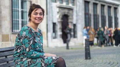 """Kersvers voorzitter van sp.a Antwerpen Tatjana Scheck: """"Dit bestuur is veel linkser dan het vorige. Dat is dankzij ons"""""""
