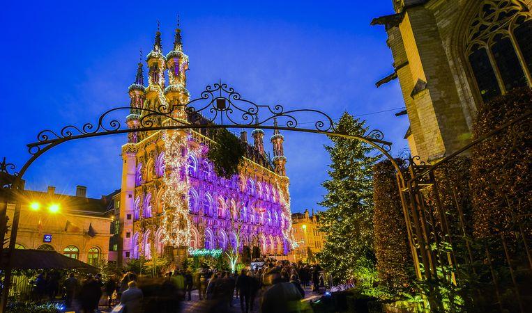 'Wintertijd' in Leuven is een bijzonder populair evenement.