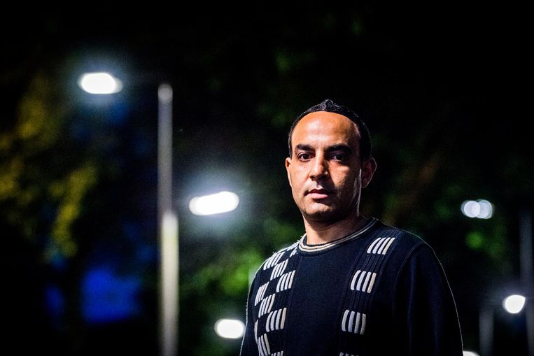 Het opgestapte raadslid Mohammed Anfal. Beeld ANP