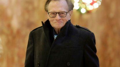 Huis verkocht en erfenis geregeld: voelt Larry King het einde naderen?
