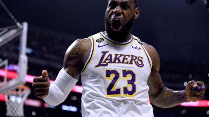 LeBron James en Anthony Davis loodsen LA Lakers voorbij stadsrivaal Clippers