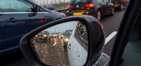 Lange files op de A35 en de A1 door ongeluk bij Borne bijna verdwenen