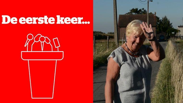 Denise Van Poel (71) staat voor het eerst op de lijst in Haaltert.