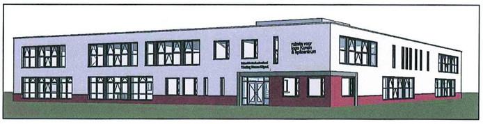 Het ontwerp voor de nieuwbouw van het spilcentrum Kronehoef, met de islamitische basisschool Tarieq Ibnoe Zayid, krijgt kritiek uit de buurt.