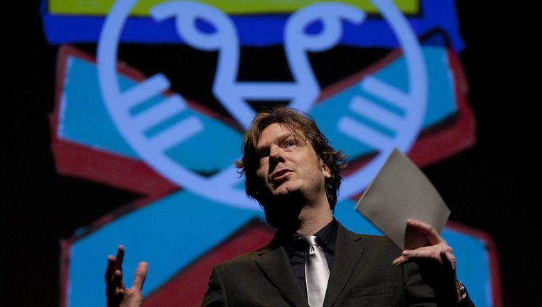 Rutger Wolfson, afkomstig uit de museumwereld, was zeven jaar artistiek directeur van het IFFR. Beeld anp