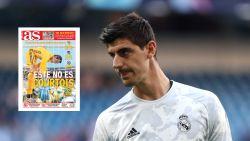 Spaanse krant haalt in vijf pagina's uit naar Thibaut Courtois
