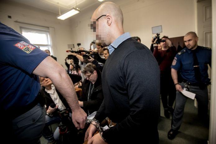Armin N. tijdens de eerdere rechtszaak in april.