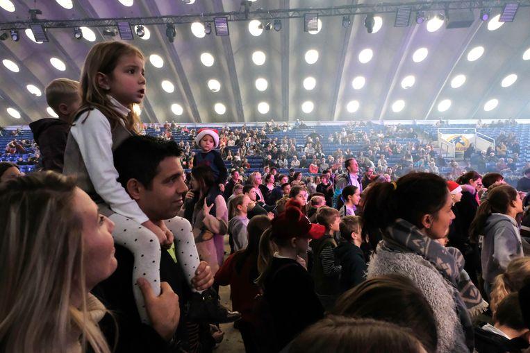 Mechelen Jumping publiek bij De Bende