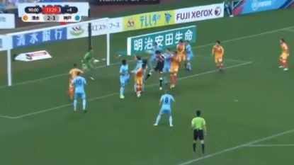 Iniesta en Podolski slikken met Vissel Kobe in 104de minuut gelijkmaker van scorende doelman waarna poppetjes aan het dansen gaan