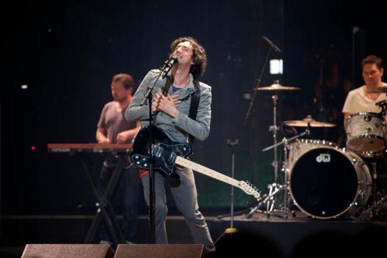 Gary Lightbody van Snow Patrol liet horen dat live ook gevestigde waarden niet altijd even zuiver zingen.