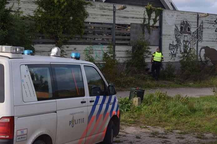 Jongeren breken in bij De Posthoorn in Puttershoek.